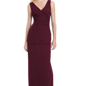 Bill Levkoff Style 1179. Color - WINE. Worn once!